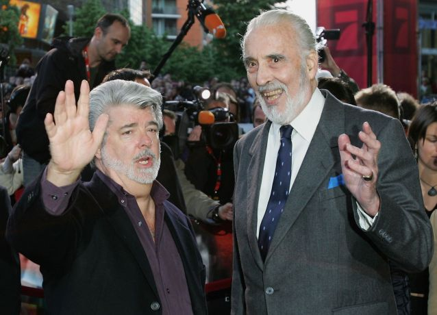German Premiere of 'Star Wars 3'
