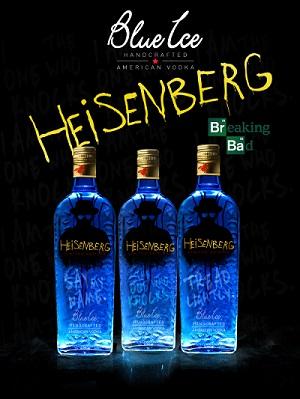 Blue Ice Vodka Heisenberg