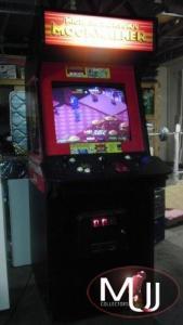Moonwalker arcade cabinet