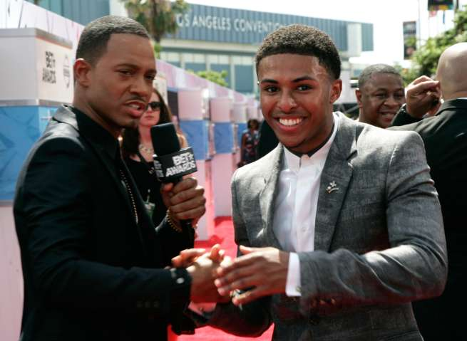 2015 BET Awards - Nissan Red Carpet