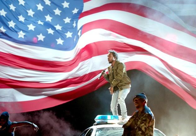 Kendrick Lamar, BET Awards, Black Lives Matter, Police brutality