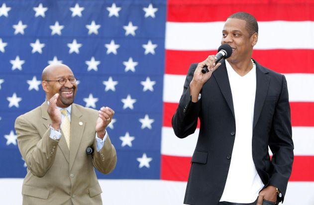 Philadelphia Mayor Michael Nutter & Jay-Z Make Major Announcement
