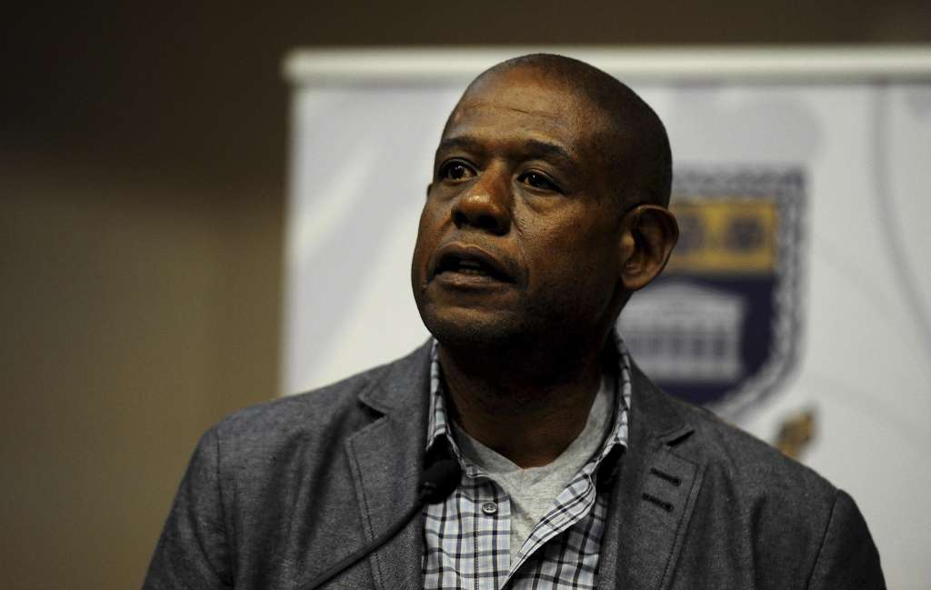Forest Whitaker in South Africa