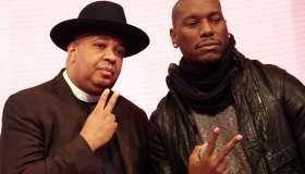 Tyrese & Rev. Run Visit BET's '106 & Park'