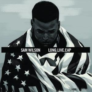 Captain America #1 artwork by Mahmud Asrar (A$AP Rocky's Long. Live. A$AP.)