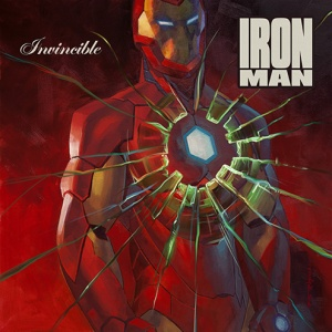 Invincible Iron Man #1 artwork by Brian Stelfreeze (50 Cent's Get Rich or Die Tryin')