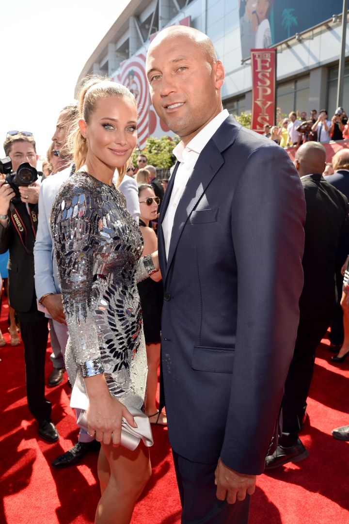 Derek Jeter and Model Hannah Davis