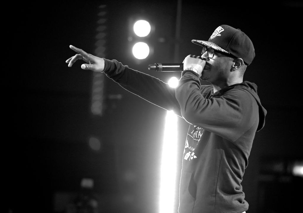 Chris Brown For iHeartRadio Live With Special Guest T.I. At The iHeartRadio Theater Los Angeles