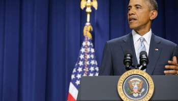 Obama Gives Speech To Criminal Justice Activists And Community Leaders