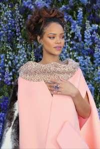 Rihanna attends Dior Photocall as part of the Paris Fashion Week