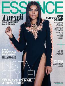 Taraji P. Henson Nov '15 Essence Cover