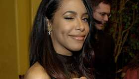 US recording artist Aaliyah arrives for the premie