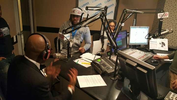 Jermaine Dupri Visits The Ed Lover Show