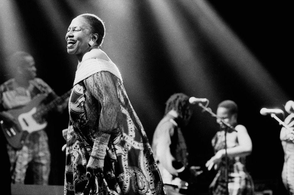 Miriam Makeba...