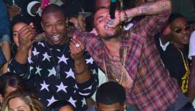 Chris Brown And T.I. Host Velvet Nightclub