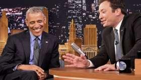 Barack Obama Visits NBC's 'The Tonight Show Starring Jimmy Fallon'