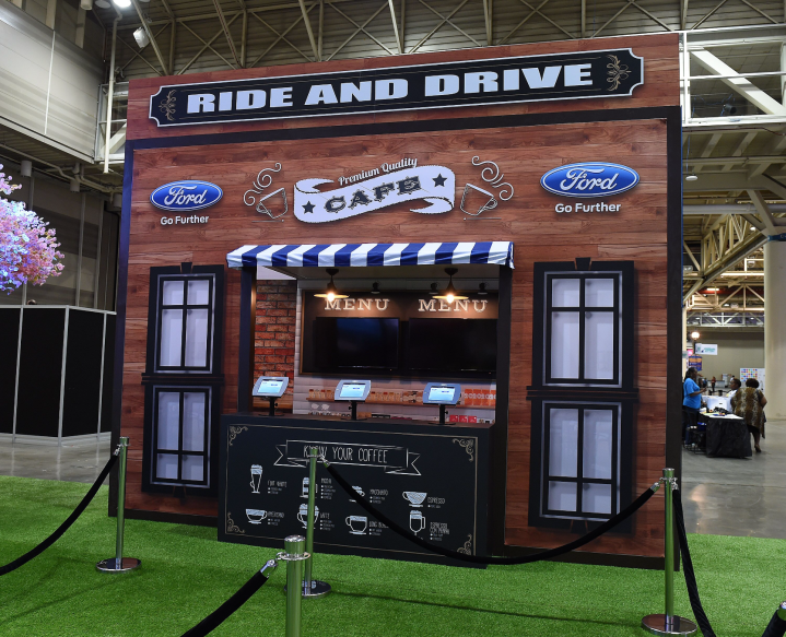 Ford Ride And Drive At The New Orleans Convention Center