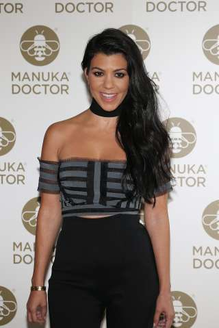 Kourtney Kardashian, Global Brand Ambassador For Manuka Doctor - Photocall