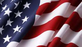 USA American Flag Background