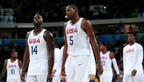 Basketball - Olympics: Day 7