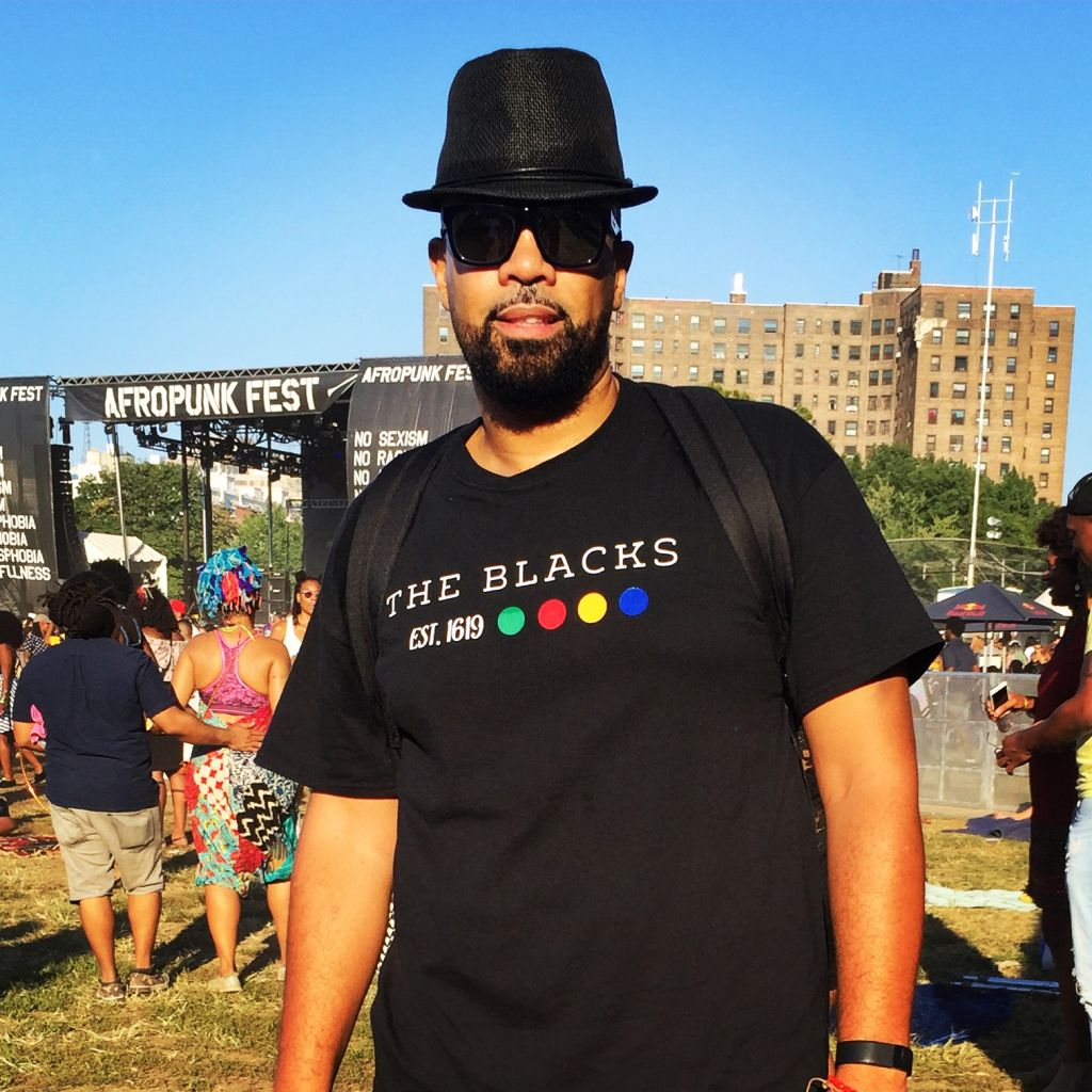 Russell Taylor at Afropunk Brooklyn 2016.