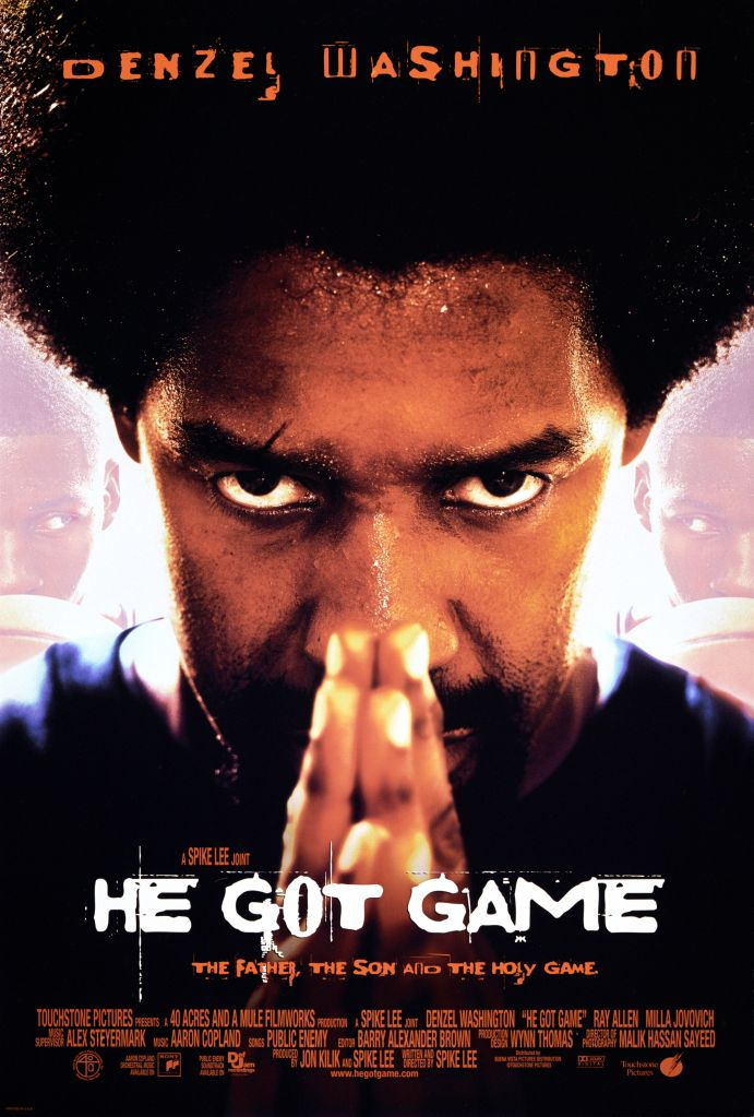 Poster For ''He Got Game'
